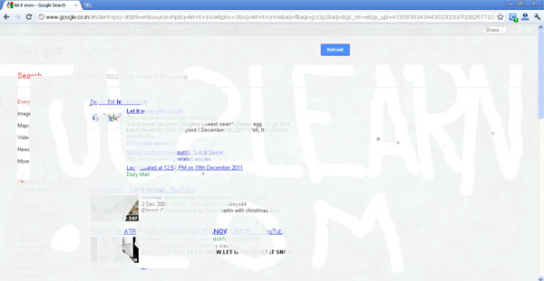 snow,easter egg,google, let it snow