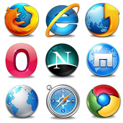 different type of browsers