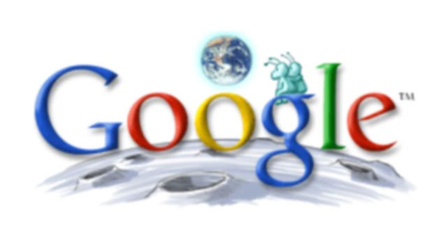 google 2003 earth day doodle