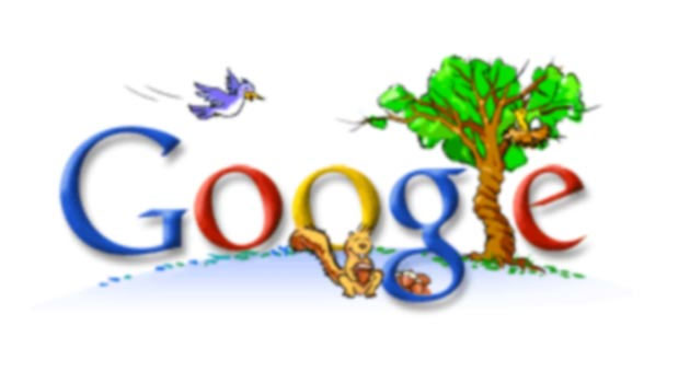 google 2005 earth day doodle