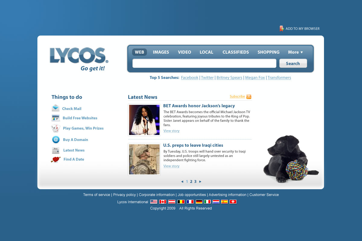 Welcome to Lycos Chat