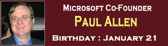 Entrepreneur Paul Allen biography