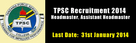 Tripura TPSC Recruitment 2014 Headmaster, Assistant Headmaster