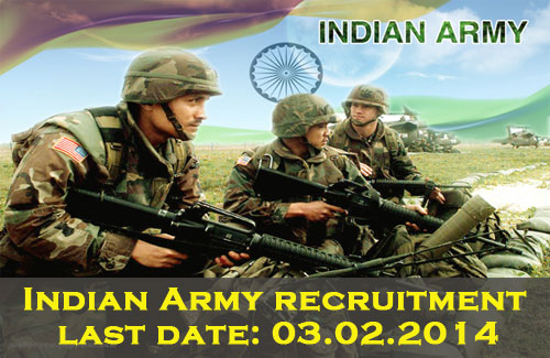 Indian Army Recruitment 121 Vacancies