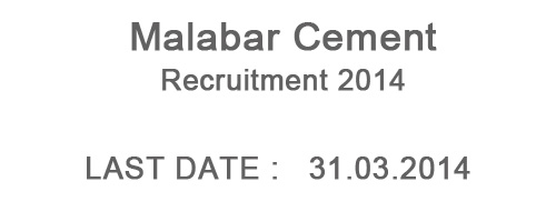 malabar cements recruitment
