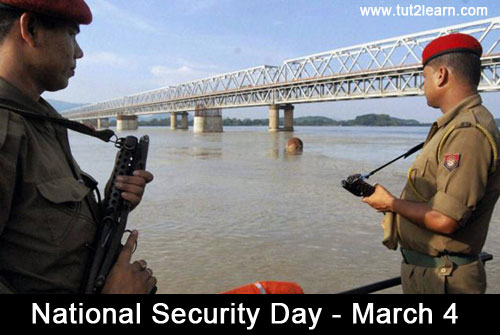 National Security Day – March 4