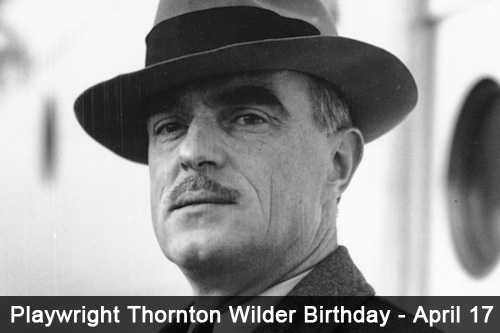 thornton wilder biography Thornton wilder (1897-1975) was an accomplished novelist and playwright whose works, exploring the connection between the commonplace and cosmic dimensions.