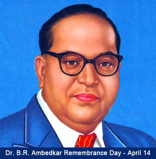 Dr. B.R. Ambedkar Remembrance Day
