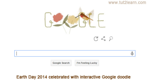 Earth Day 2014 celebrated with interactive Google doodle