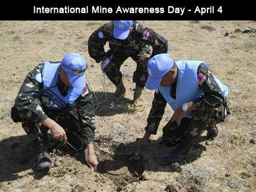 International Day for Mine Awareness – April 4
