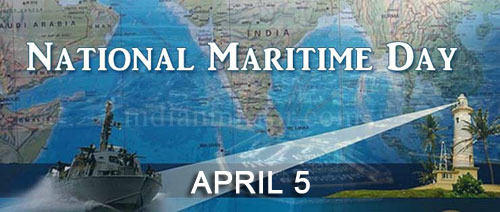 National Meritime Day -  April 5