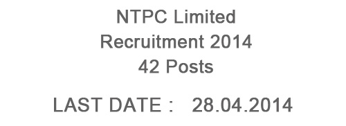NTPC Limited Finance Executives Recruitment