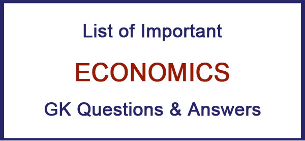 economics questions and answers