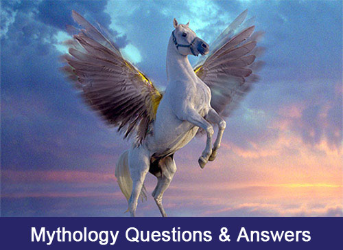 mythology questions and  answers