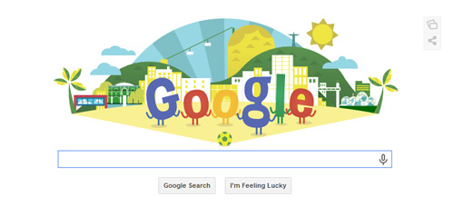 FIFA World Cup 2014 Google Doodles