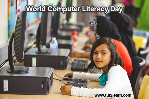 World Computer Literacy Day - December  02  IMAGES, GIF, ANIMATED GIF, WALLPAPER, STICKER FOR WHATSAPP & FACEBOOK