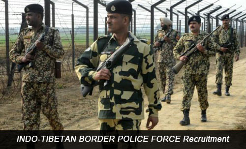 INDO-TIBETAN BORDER POLICE FORCE Recruitment