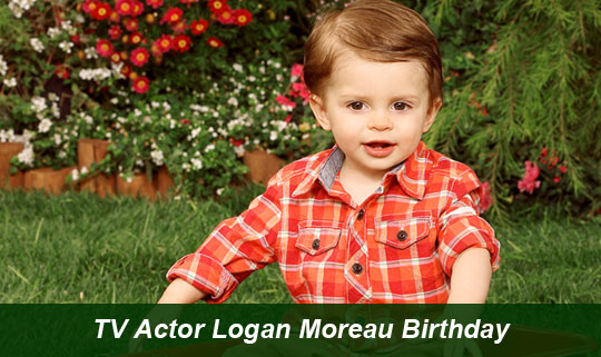 TV Actor Logan Moreau Birthday