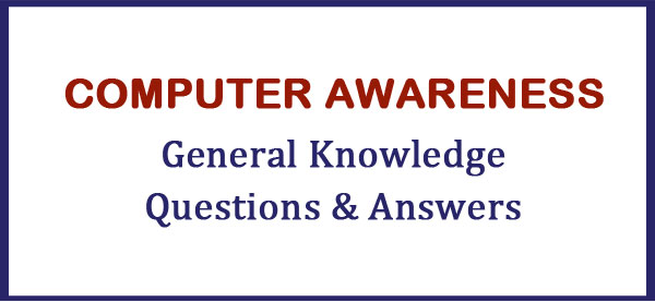 computer awareness questions and answers