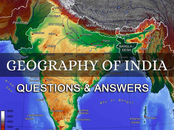 indian geography questions answers