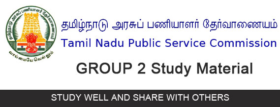 TNPSC Group 2 Study Material