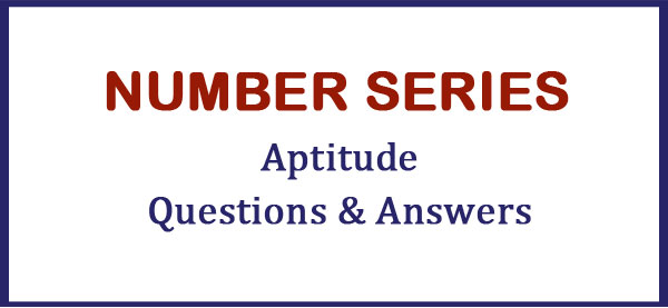 number series questions answers