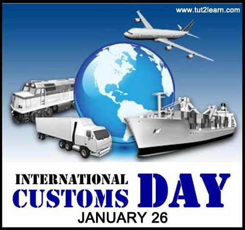 International Customs Day  IMAGES, GIF, ANIMATED GIF, WALLPAPER, STICKER FOR WHATSAPP & FACEBOOK