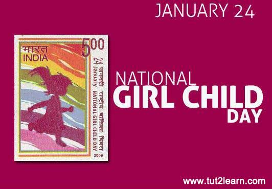 National Girl Child Day of India
