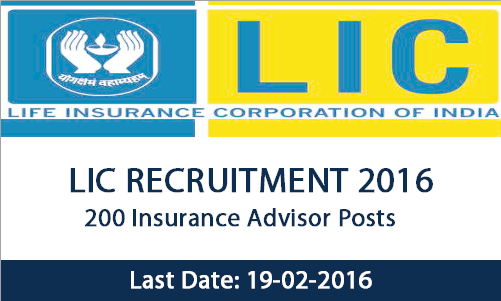 lic recruitment 2016