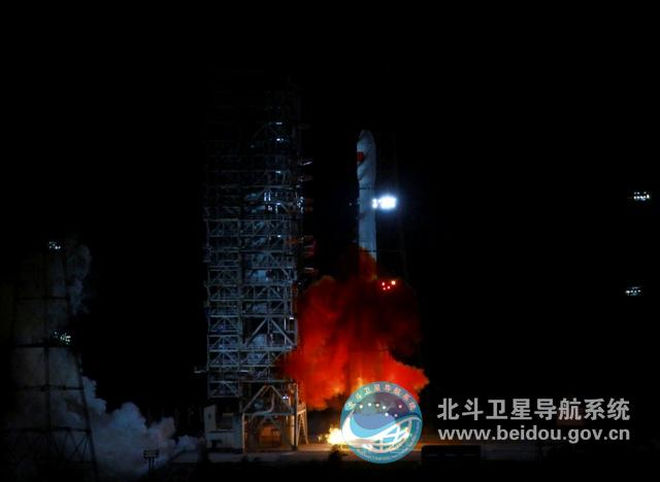 China to launch 30 navigation satellites
