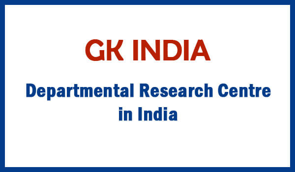 Departmental Research Centre in India