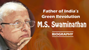 ms swaminathan green revolution