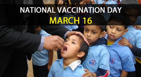 National Vaccination Day march 16