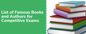 Books and Authors General Knowledge Questions